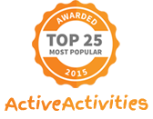 ActiveActivities Top 25 most popular logo